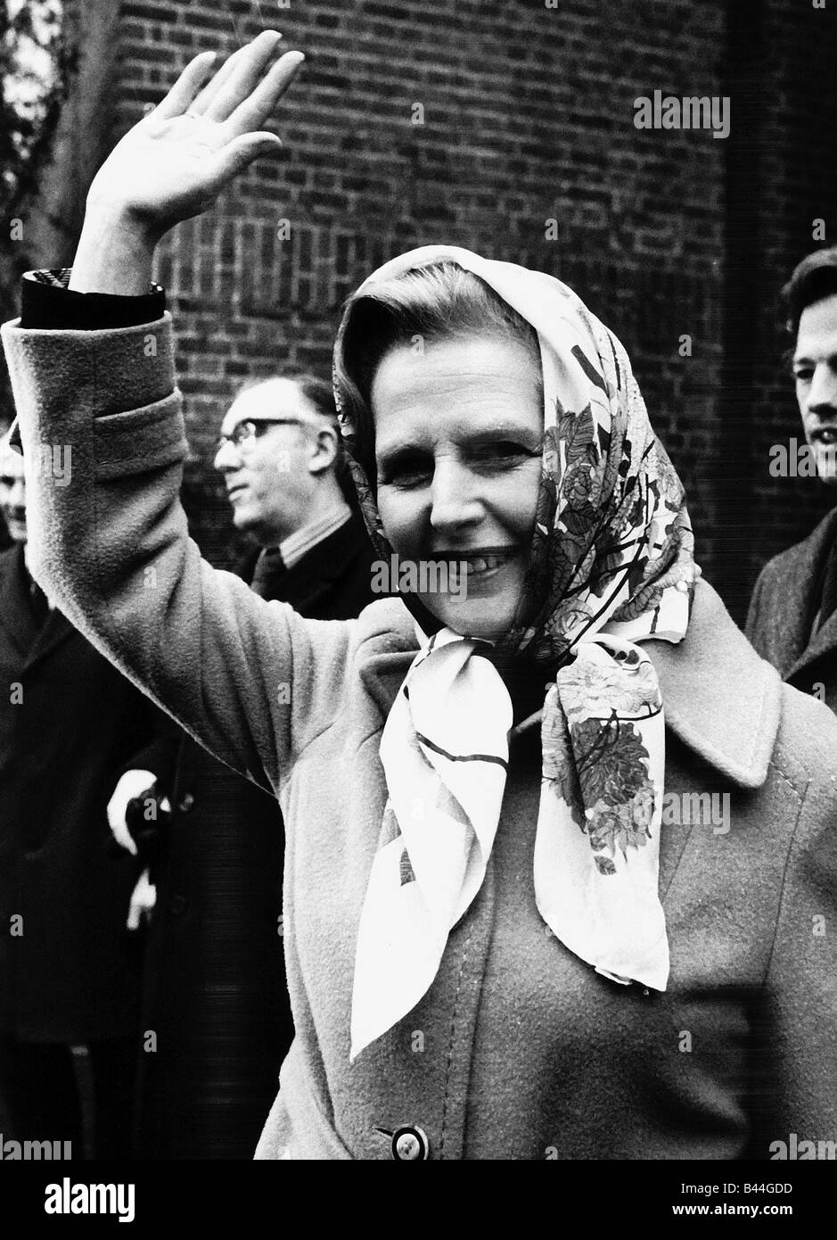 Margaret Thatcher Prime Minister leader of the Conservative Party 1987 FEY003 LFEY003 Margaret Thatcher Collection - Stock Image