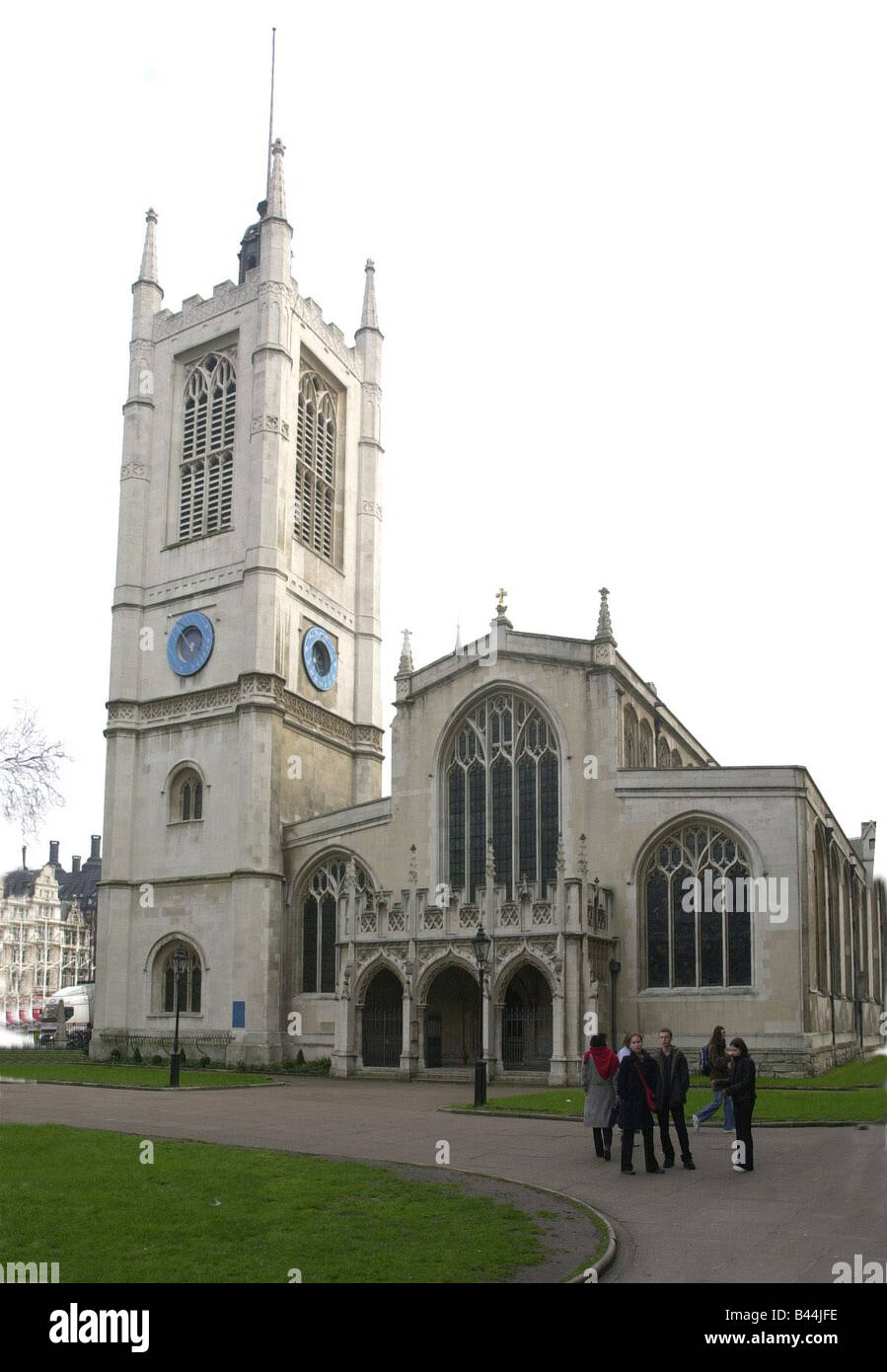 St Margaret Church Westminster March 2002 Mirrorpix - Stock Image