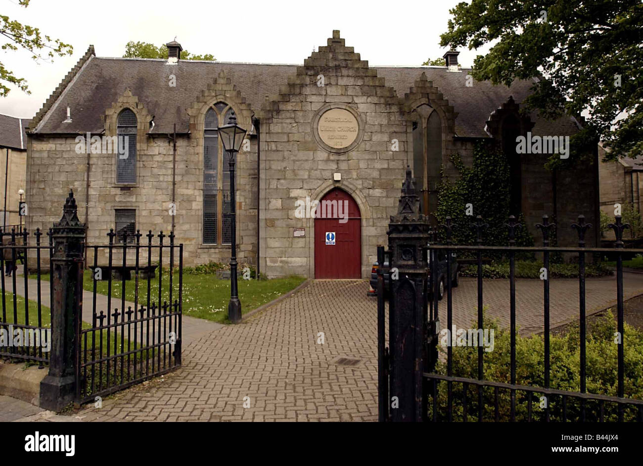 Laigh Kirk where John Witherspoon preached May 2002 - Stock Image
