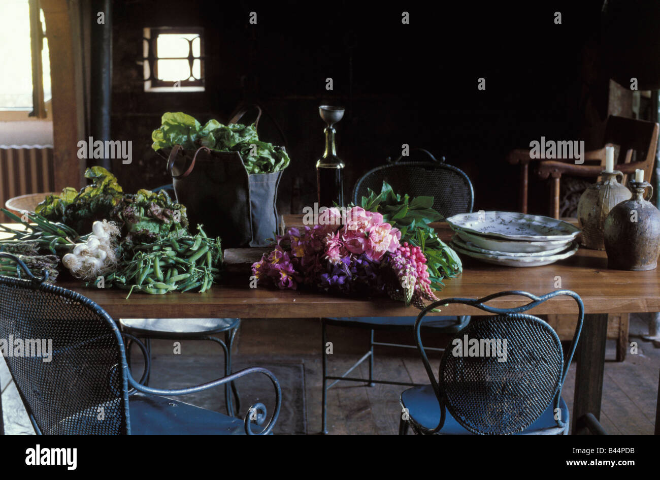 Vegetables in the kitchen - Stock Image