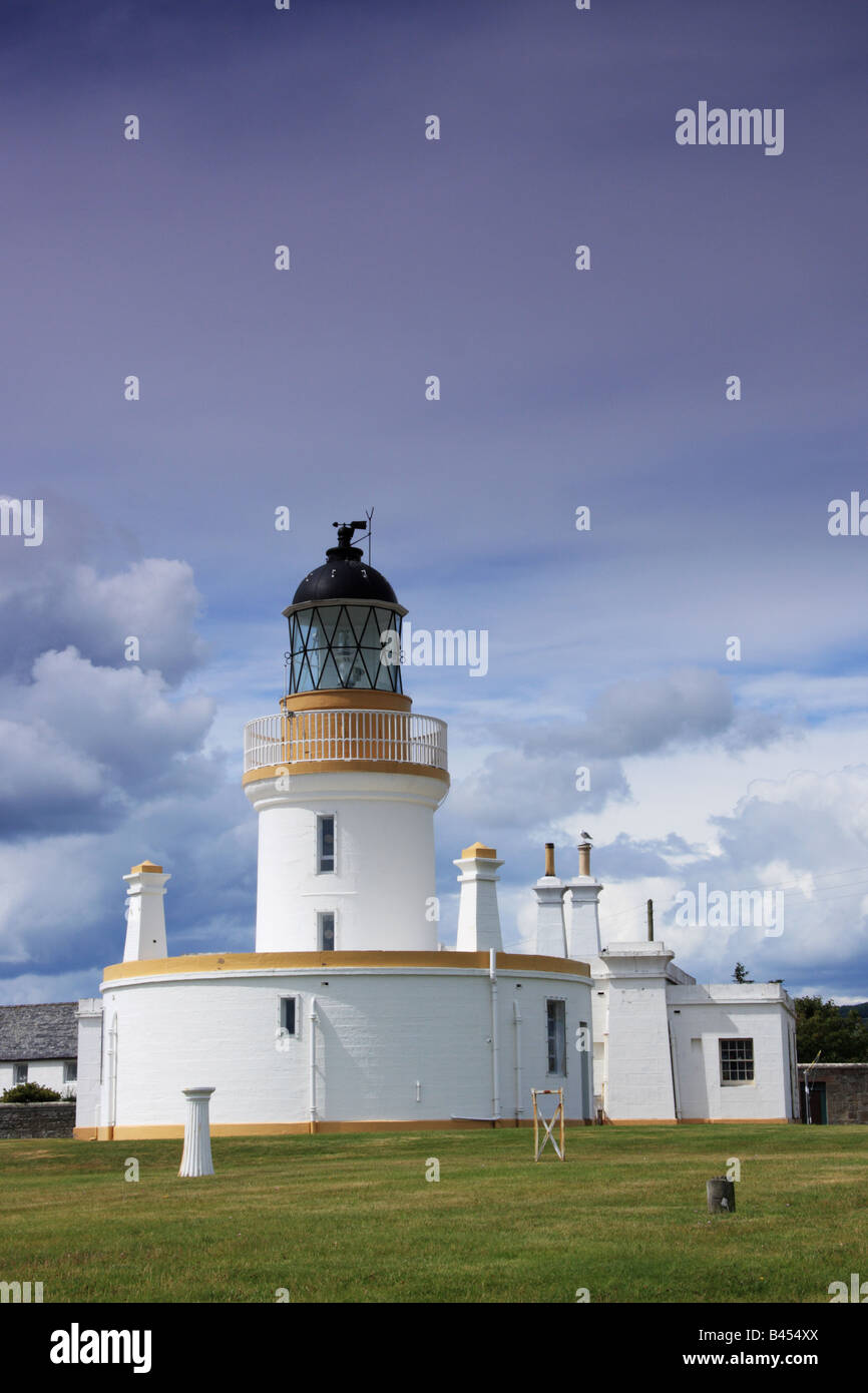 Lighthouse, Chanonry Point - Stock Image