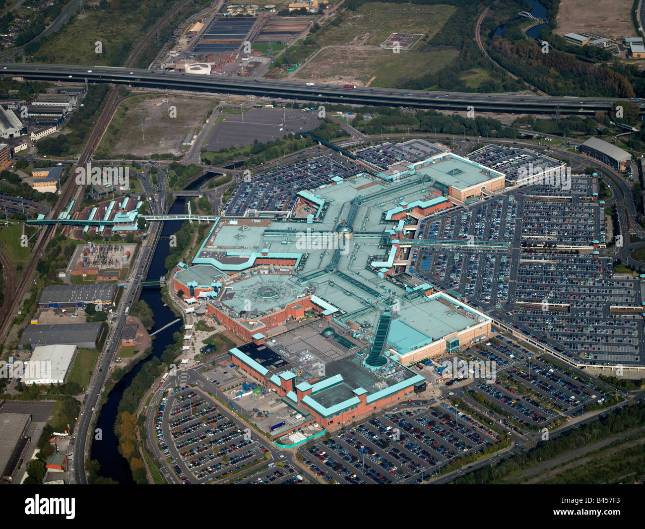 Meadowhall Shopping Centre, Sheffield, Northern England - Stock Image