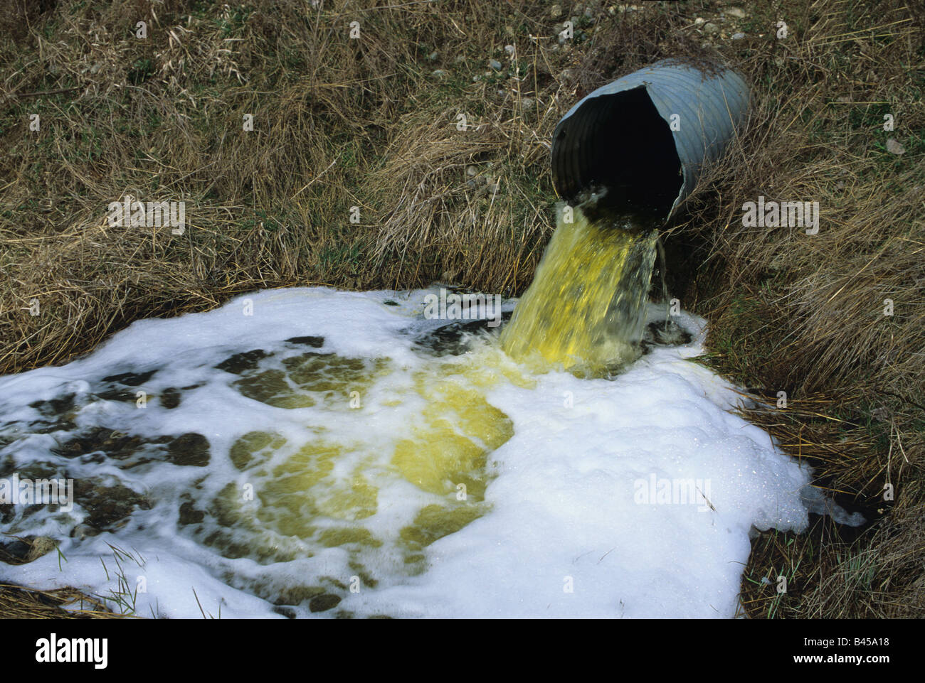 Point Source Water Pollution Stock Photos Amp Point Source