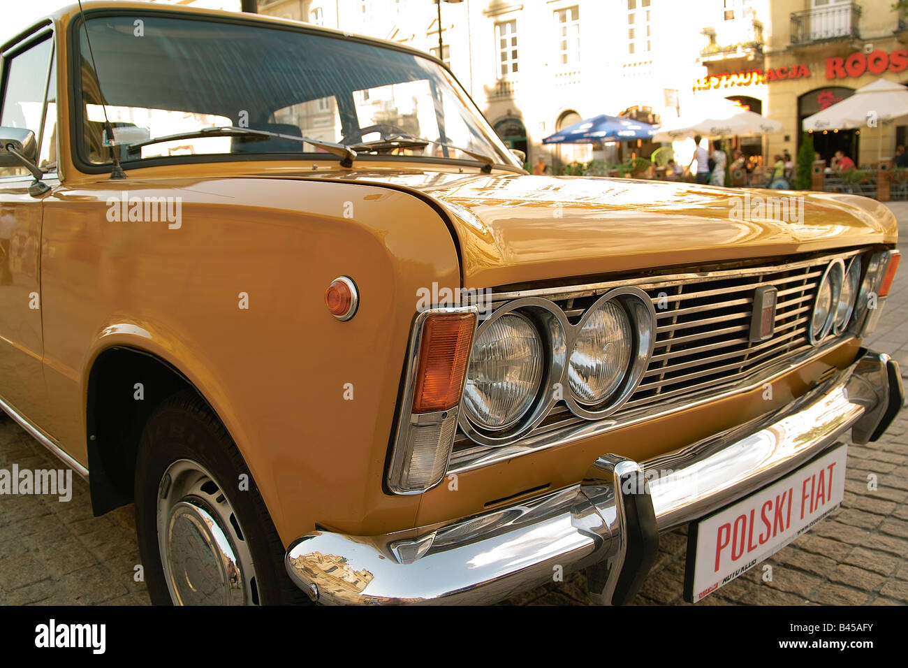Polish Fiat 125p Licensed Fiat 125 Stock Photo Alamy