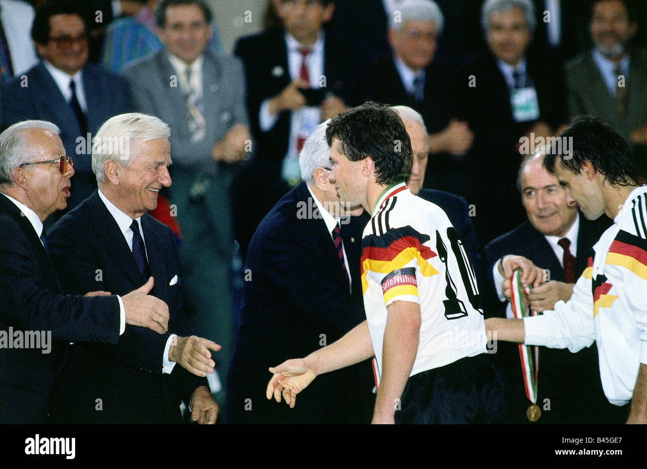 Sport / Sports, soccer, football, World Cup 1990, final round, final, Germany against Argentina, (1:0) in Rome, - Stock Image