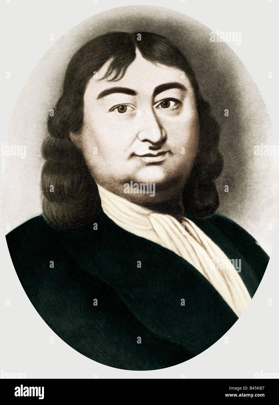 Bering, Vitus Jonassen, 1680