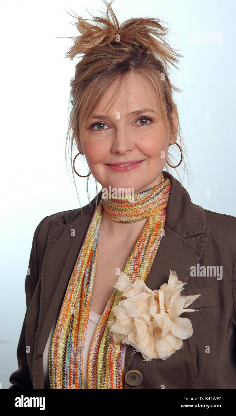 Schubert, Katharina, * 26.11.1963, German actress, portrait, 2005, Additional-Rights-Clearances-NA - Stock Image