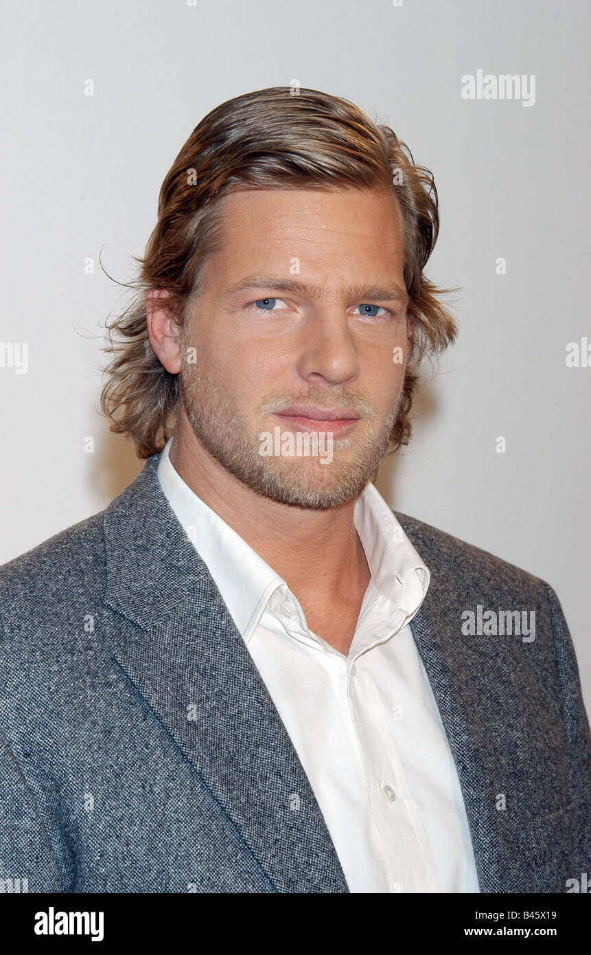 Baum, Henning, * 1972, German actor, portrait, 2005, Additional-Rights-Clearances-NA - Stock Image