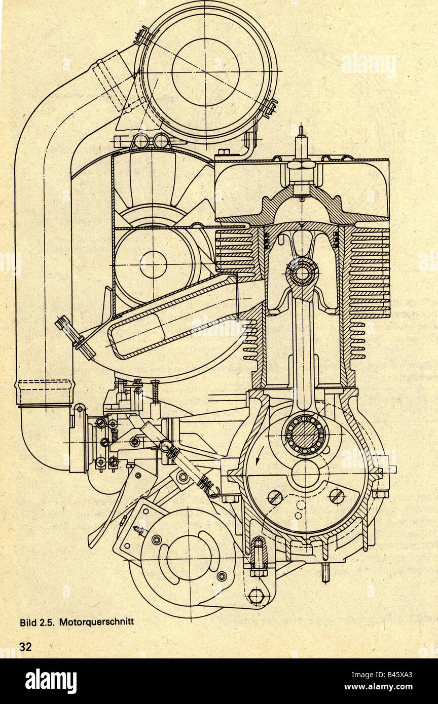Traverse Engine Diagram Wiring Library Transport Transportation Car Germany Trabant Section From
