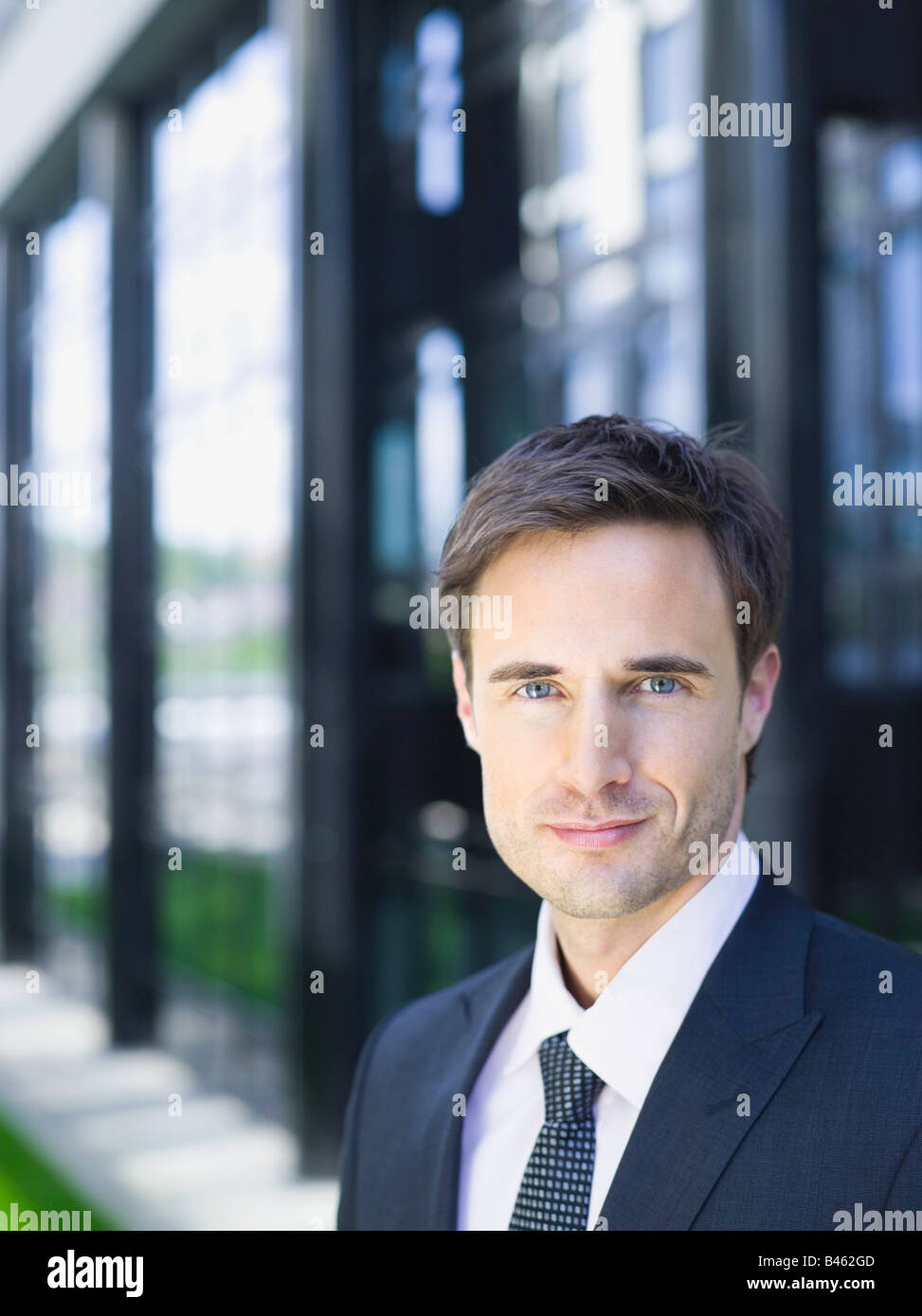 Germany, Baden-Württemberg, Stuttgart, Businessman, portrait - Stock Image