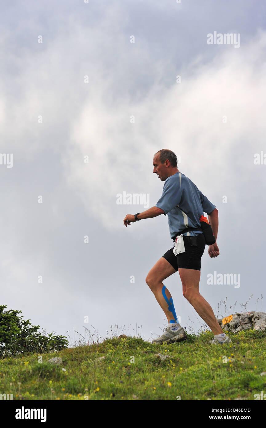 Fell runner - Stock Image