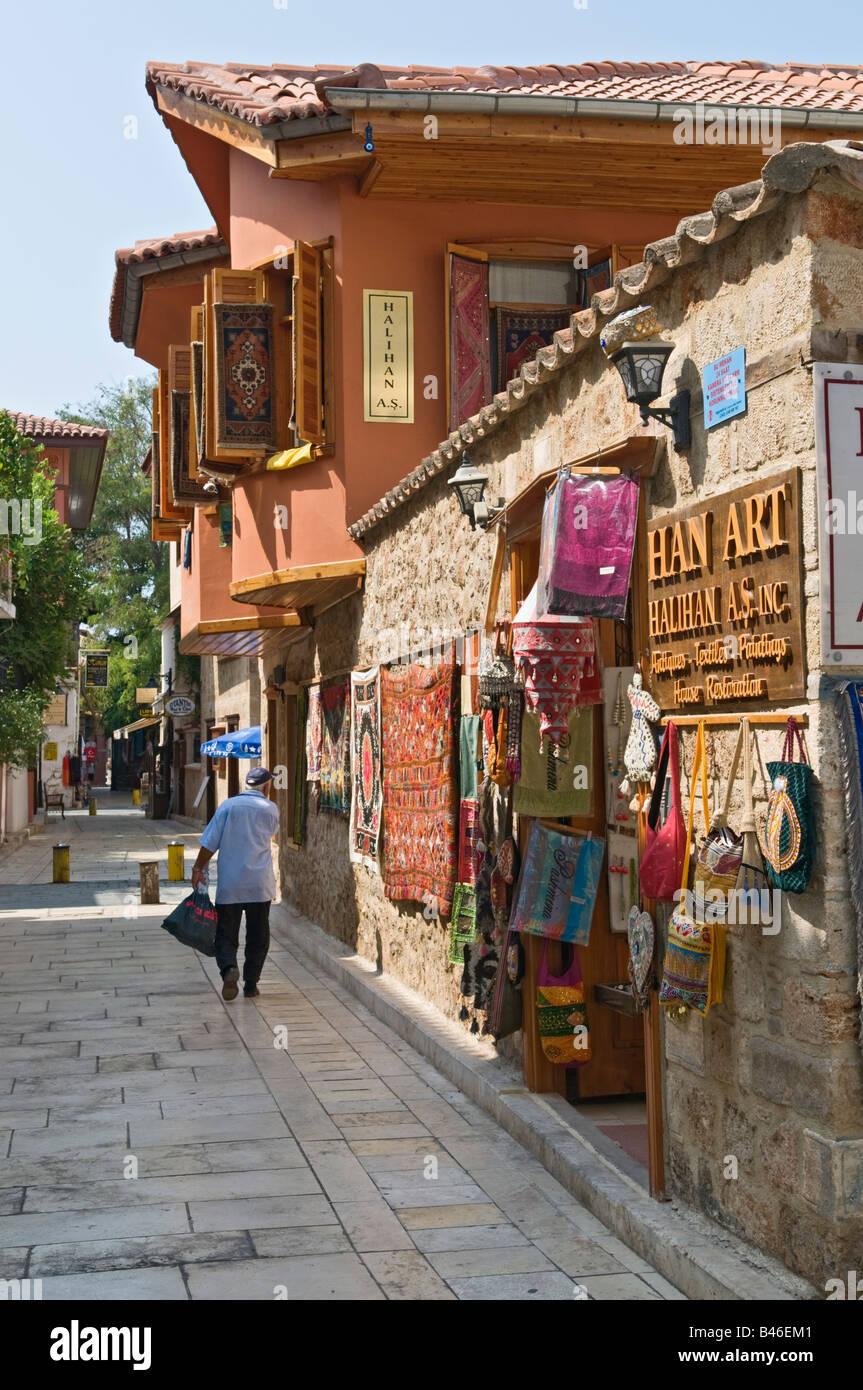 Kaleici Antalya Turkey - Stock Image