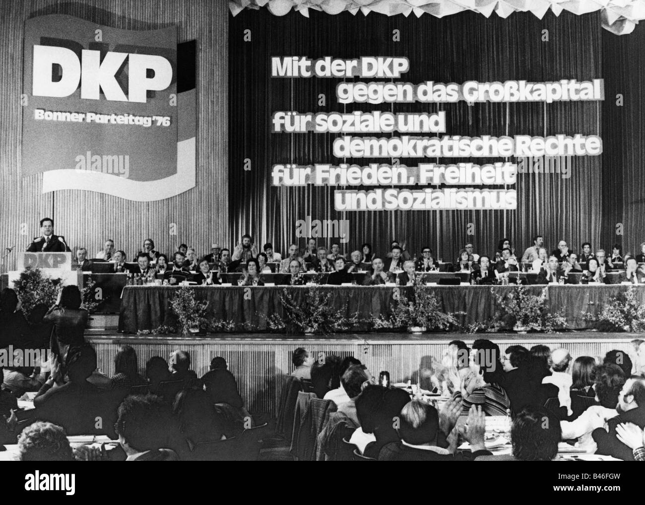 geography / travel, Germany, politics, parties, German Communist Party (Deutsche Kommunistische Partei, DKP), party - Stock Image