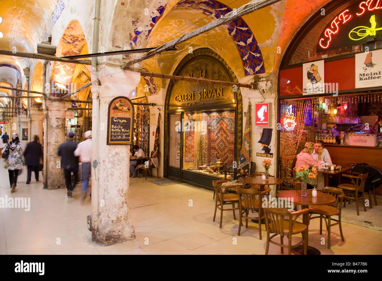 Turkey Istanbul Spice Market in the Egyptian Bazaar - Stock Image