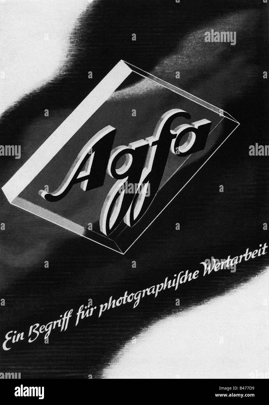 advertising, photography, Agfa, advert, 'Atlantis', April 1941, , Additional-Rights-Clearances-NA - Stock Image