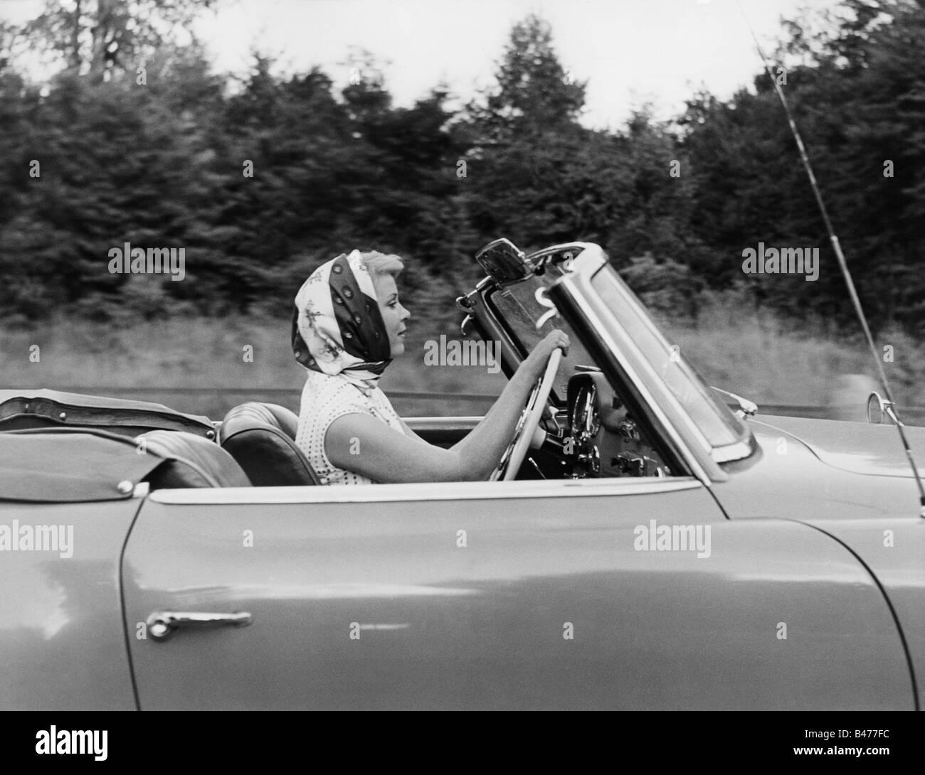 Frydtberg, Wera, 11.8.1926 - 16.6.2008, German actress, half length, 1959, Additional-Rights-Clearances-NA - Stock Image