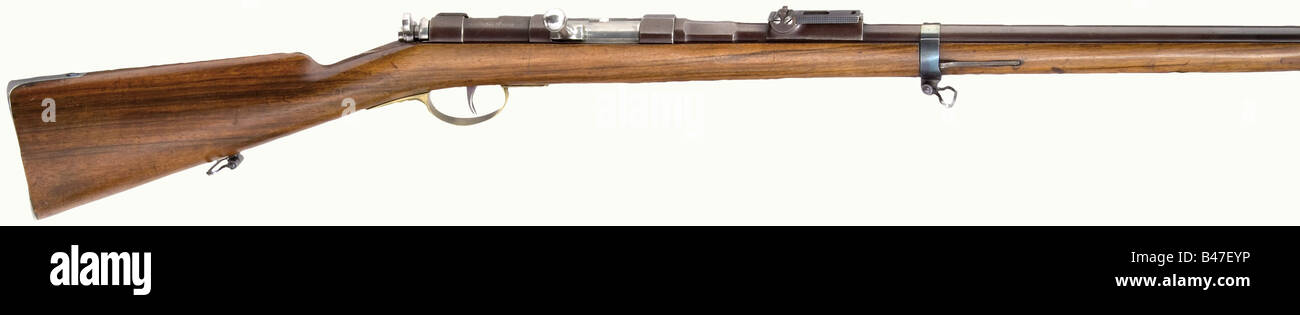 A Dreyse trial rifle with
