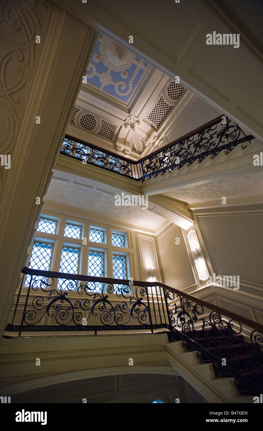 Andaz Victorian Staircase Restored In Former Great Eastern Hotel