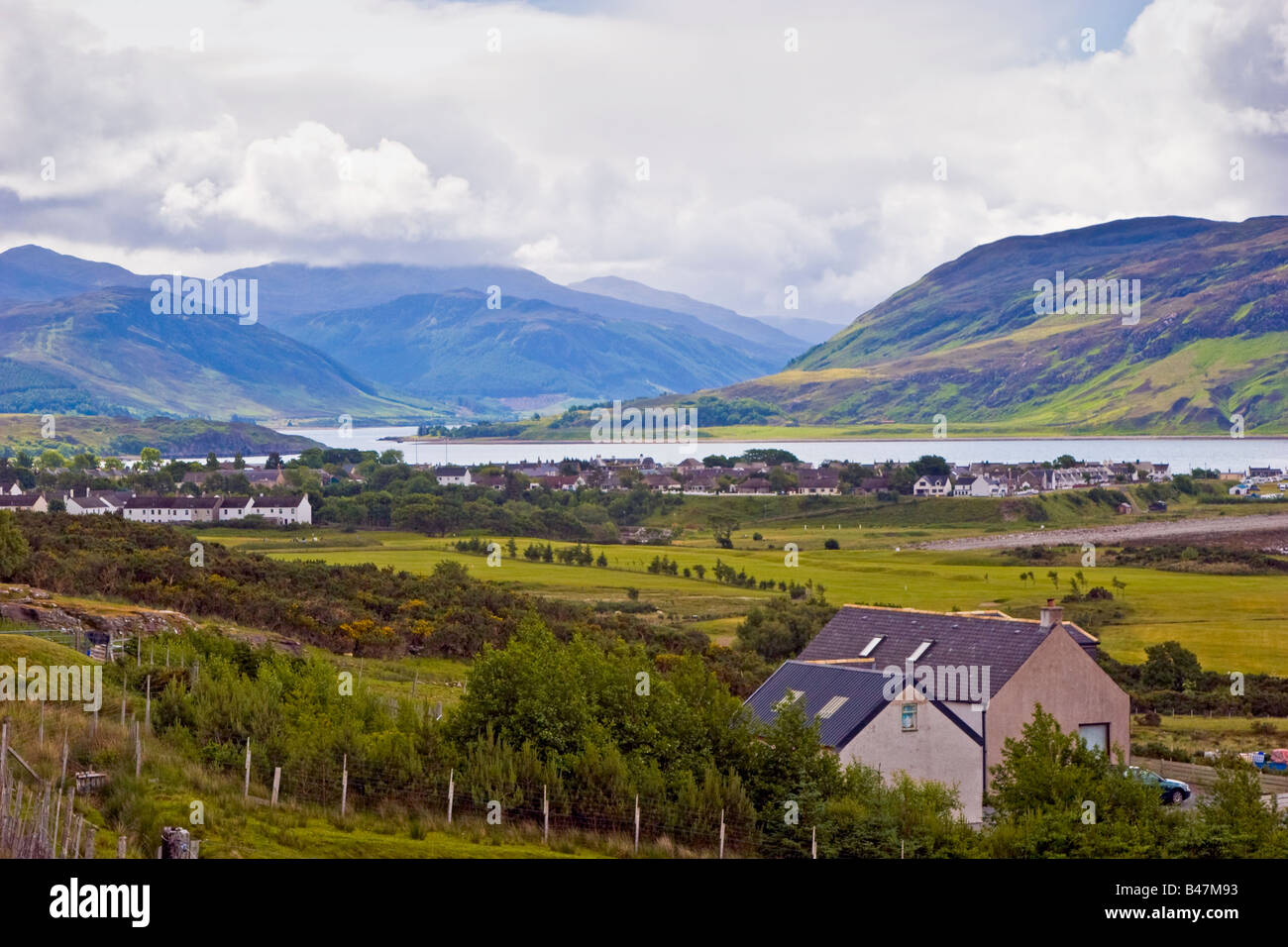 Ullapool Loch Broom Wester Ross, Highlands Scotland United Kingdom Great Britain UK 2008 - Stock Image