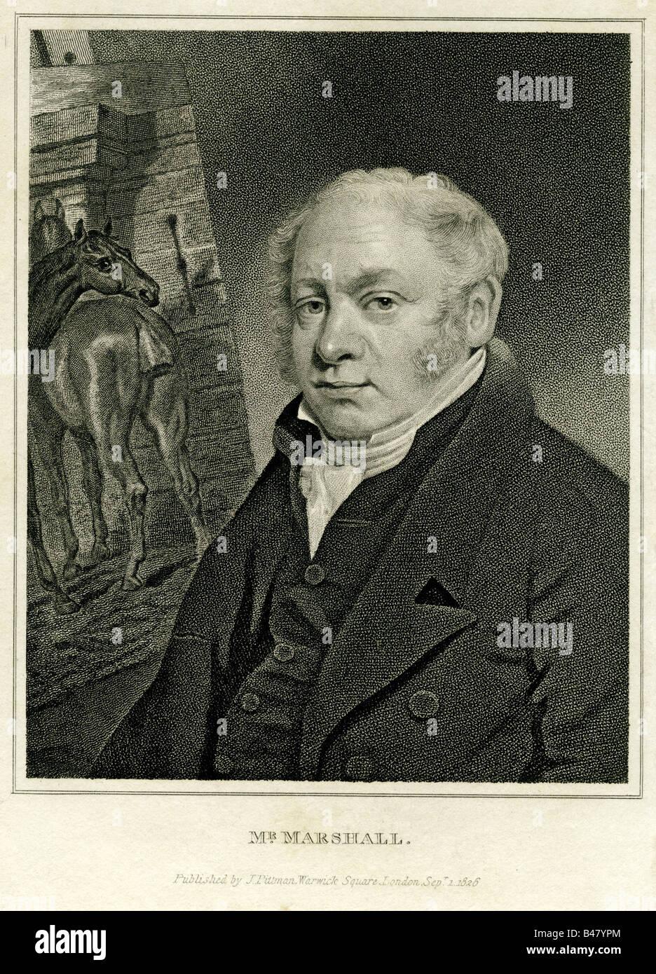 Marshall, Humphrey, 1760 - 3.7.1841, American Politician, half length, engraving, printed by J. Pittman, London - Stock Image