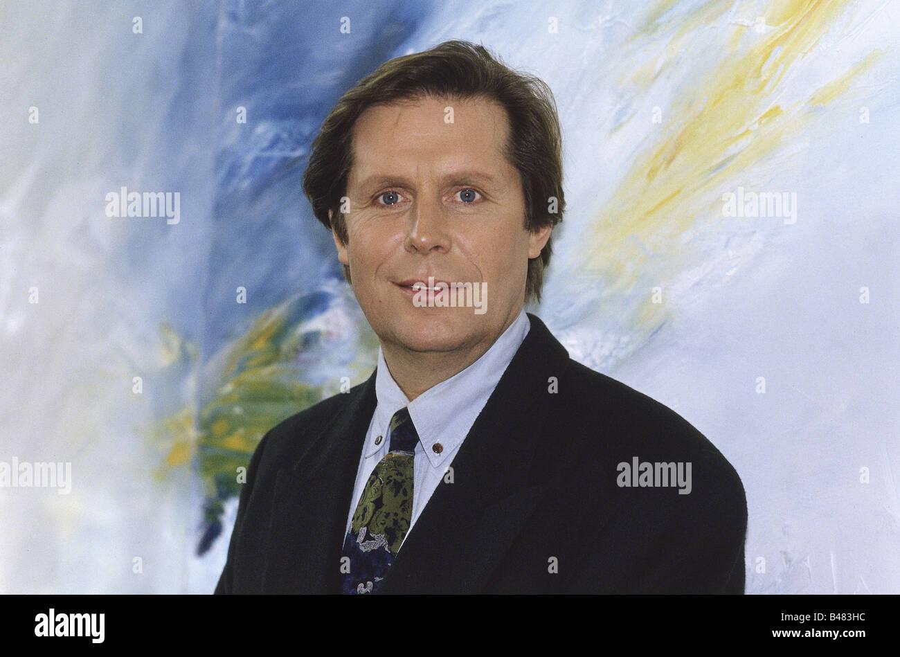 solbach sigmar 3 10 1946 grman actor portrait 1995 stock