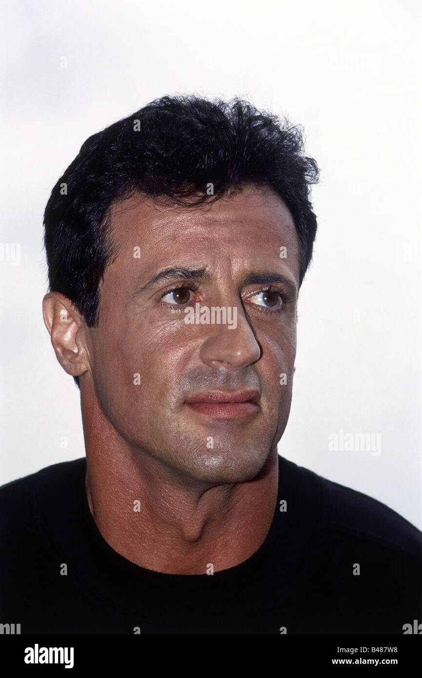 Stallone, Sylvester, * 6.7.1946, US actor, portrait, 1993, Additional-Rights-Clearances-NA - Stock Image