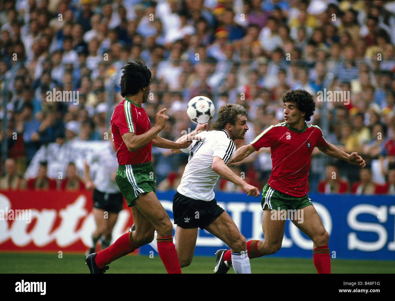 Sport Sports Soccer Football European Championship Euro 1984 Stock Photo Alamy