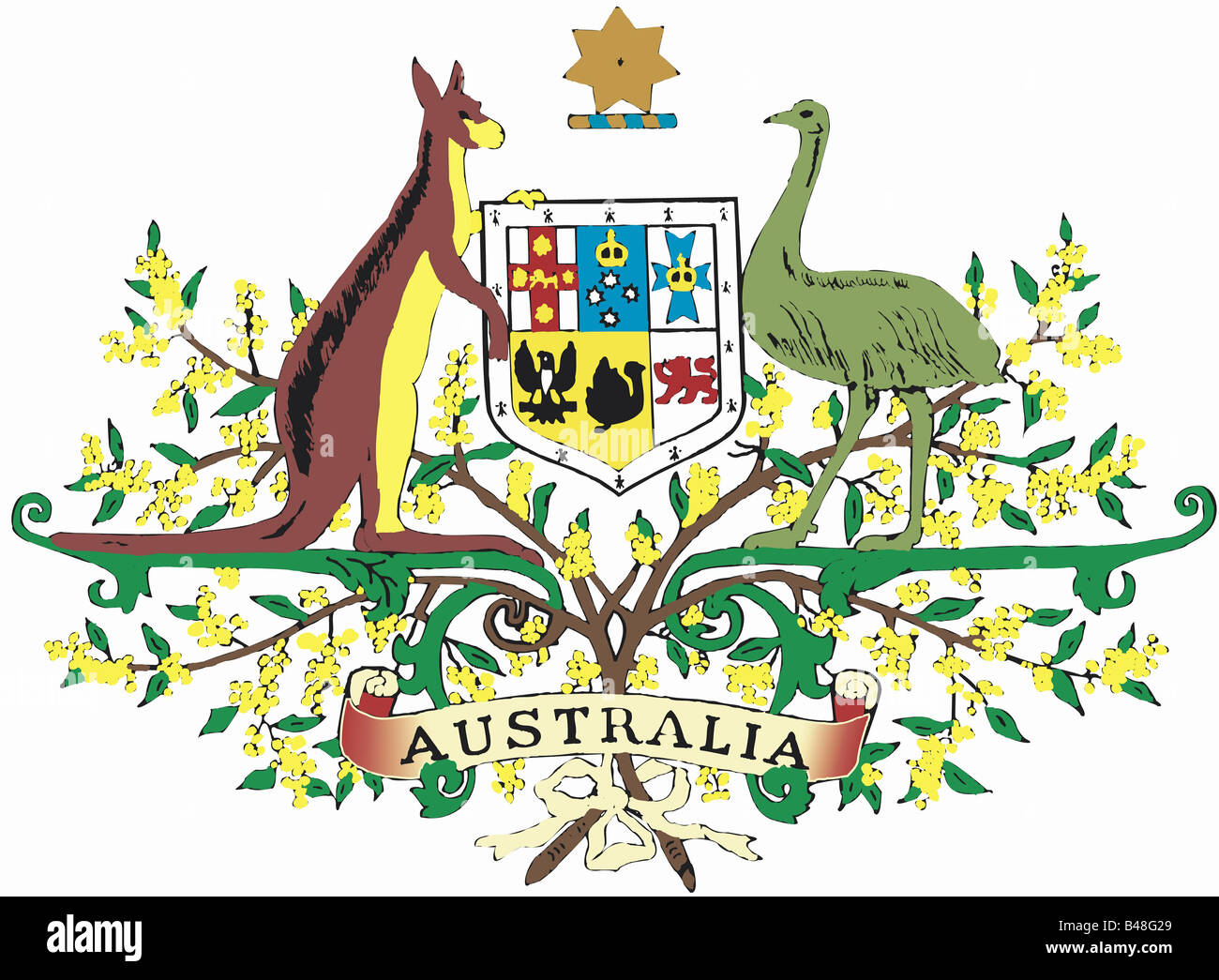 Coat Of Arms Australia Stock Photos Coat Of Arms Australia Stock