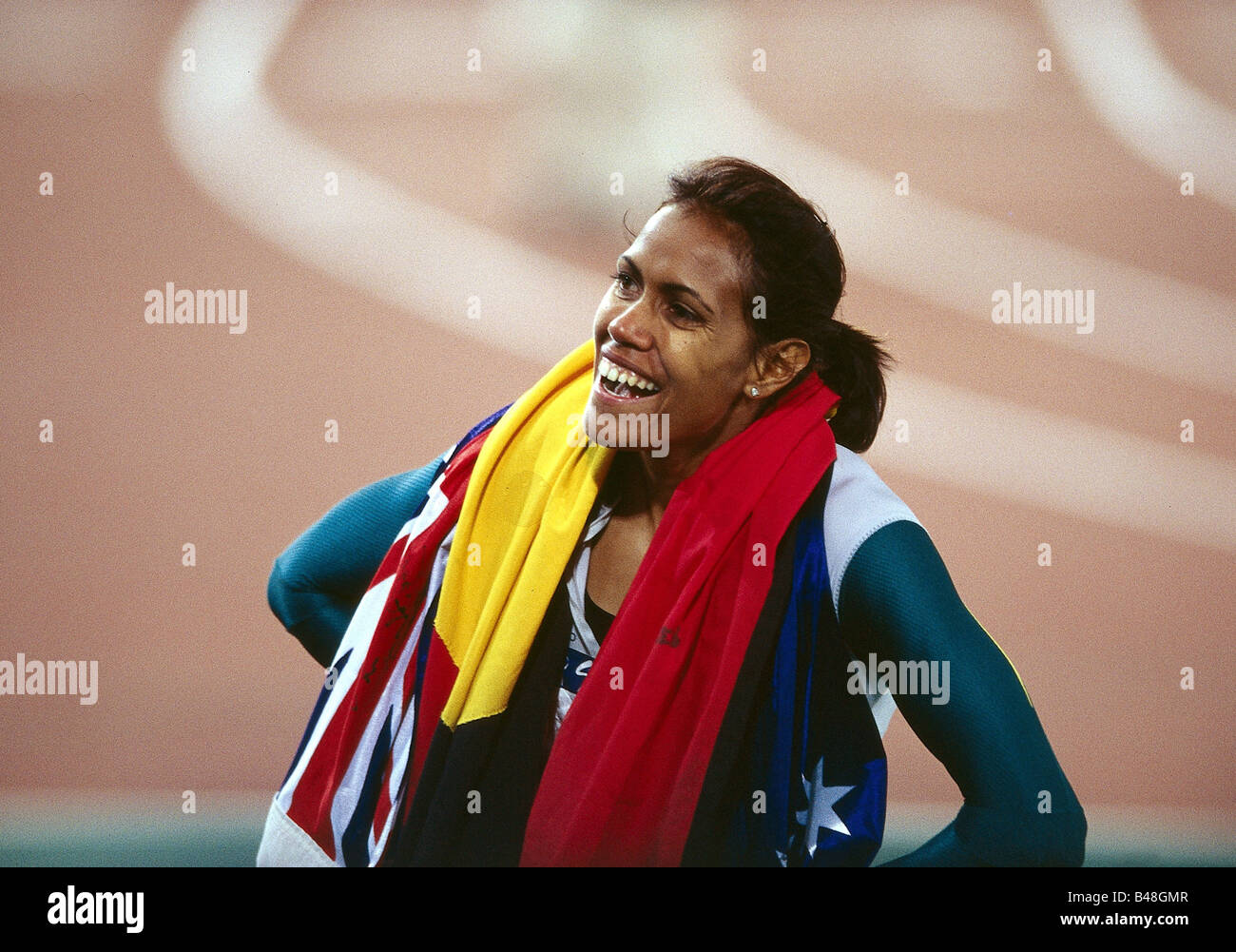 Freeman Cathy, * 16.2.1973, half length, Olympic Games, Sydney, 2000, Additional-Rights-Clearances-NA - Stock Image