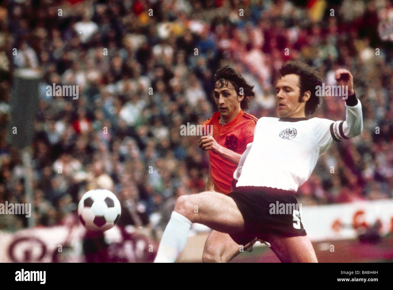 sport / sports, soccer / football, World Championship, 1974, final round, finals, Germany against Netherlands, (2:1), - Stock Image