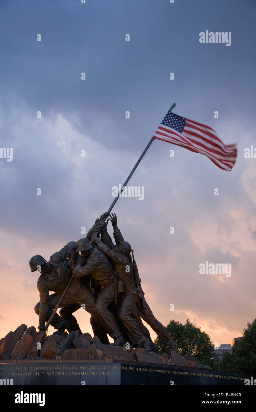 [Image: the-marine-corps-war-memorial-depicts-us...B48H4R.jpg]