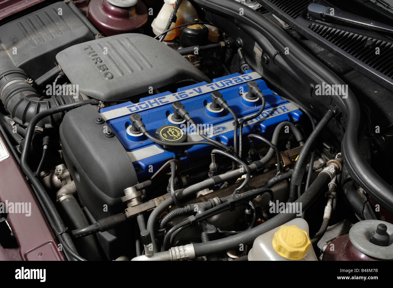 Ford Cosworth Engine Stock Photos & Ford Cosworth Engine