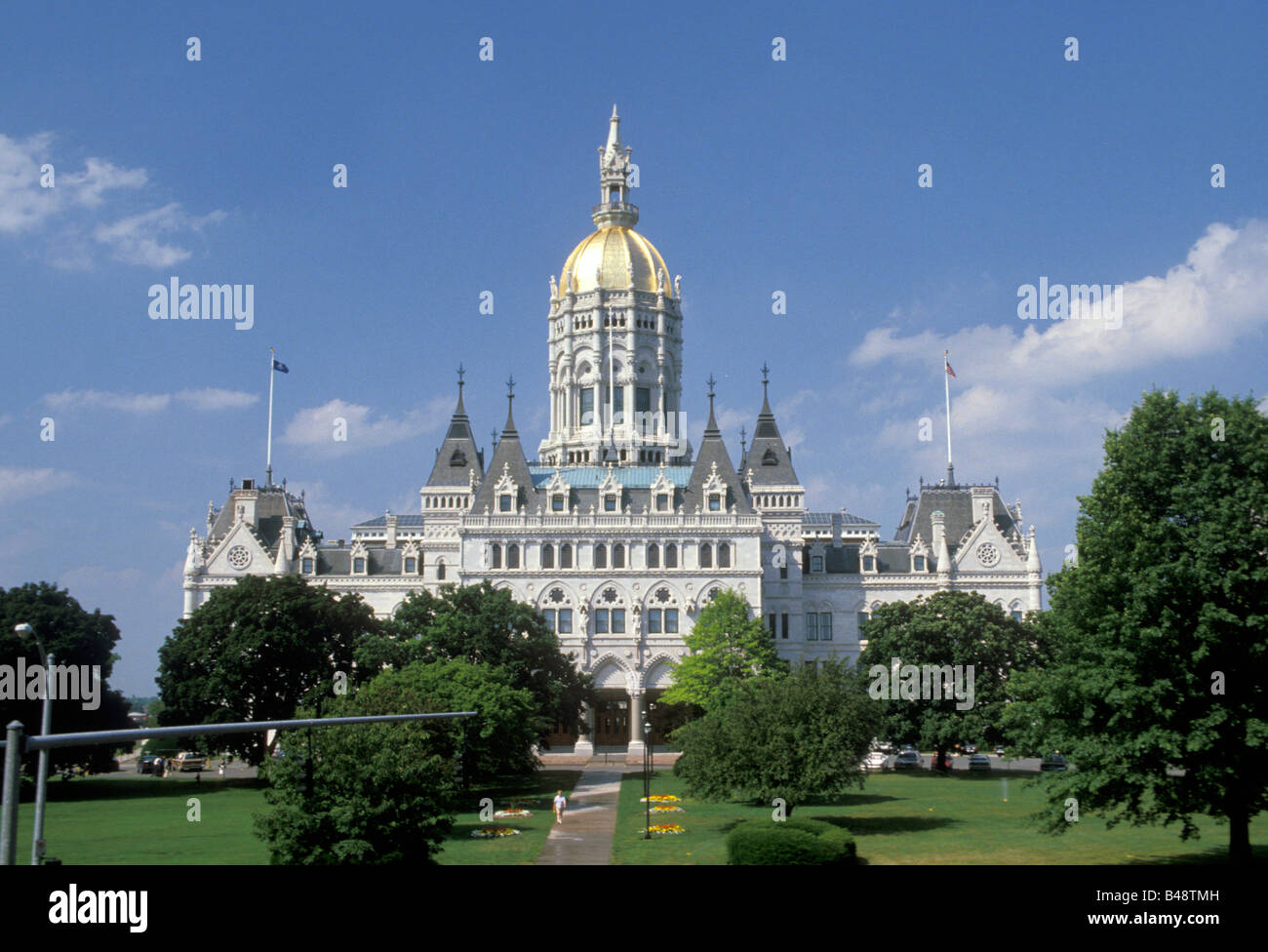 State Capitol building Hartford Connecticut - Stock Image