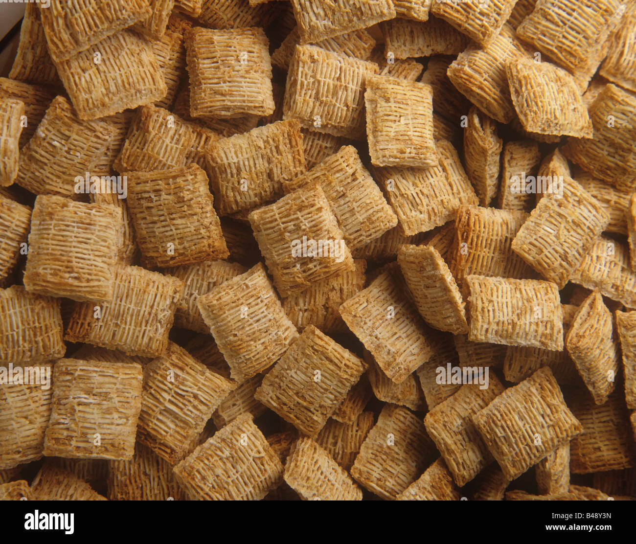 Wheat Chex breakfast cereal Richard B Levine - Stock Image