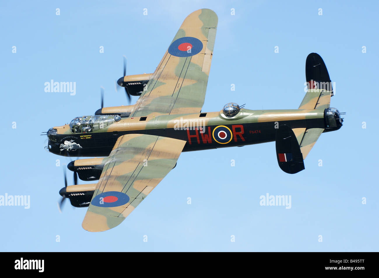 Eastbourne Air Show >> Avro Lancaster Stock Photos & Avro Lancaster Stock Images - Alamy