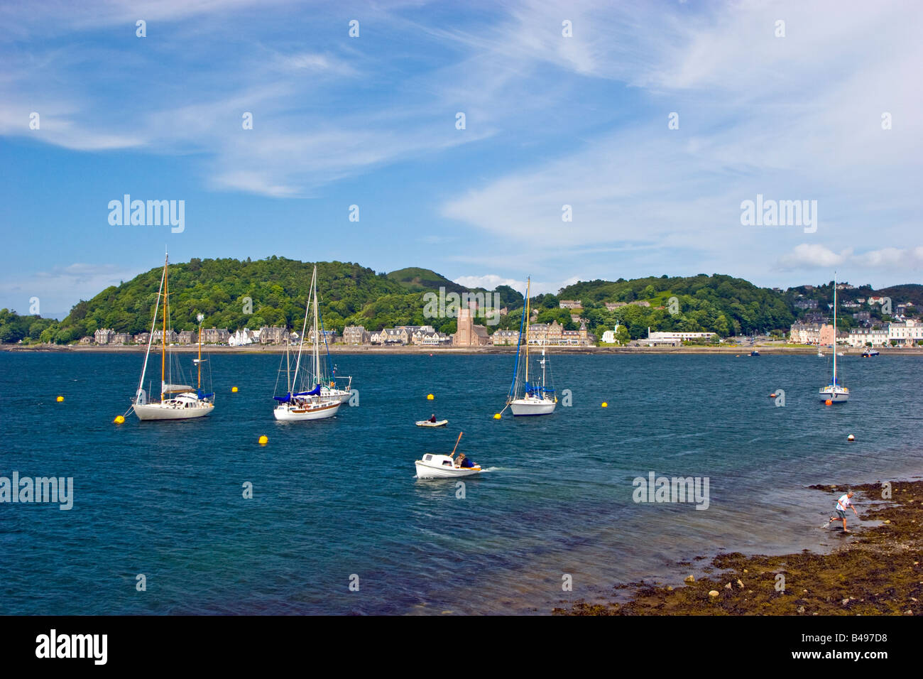 Oban harbour Argyll and Bute Scotland Great Britain UK 2008 - Stock Image