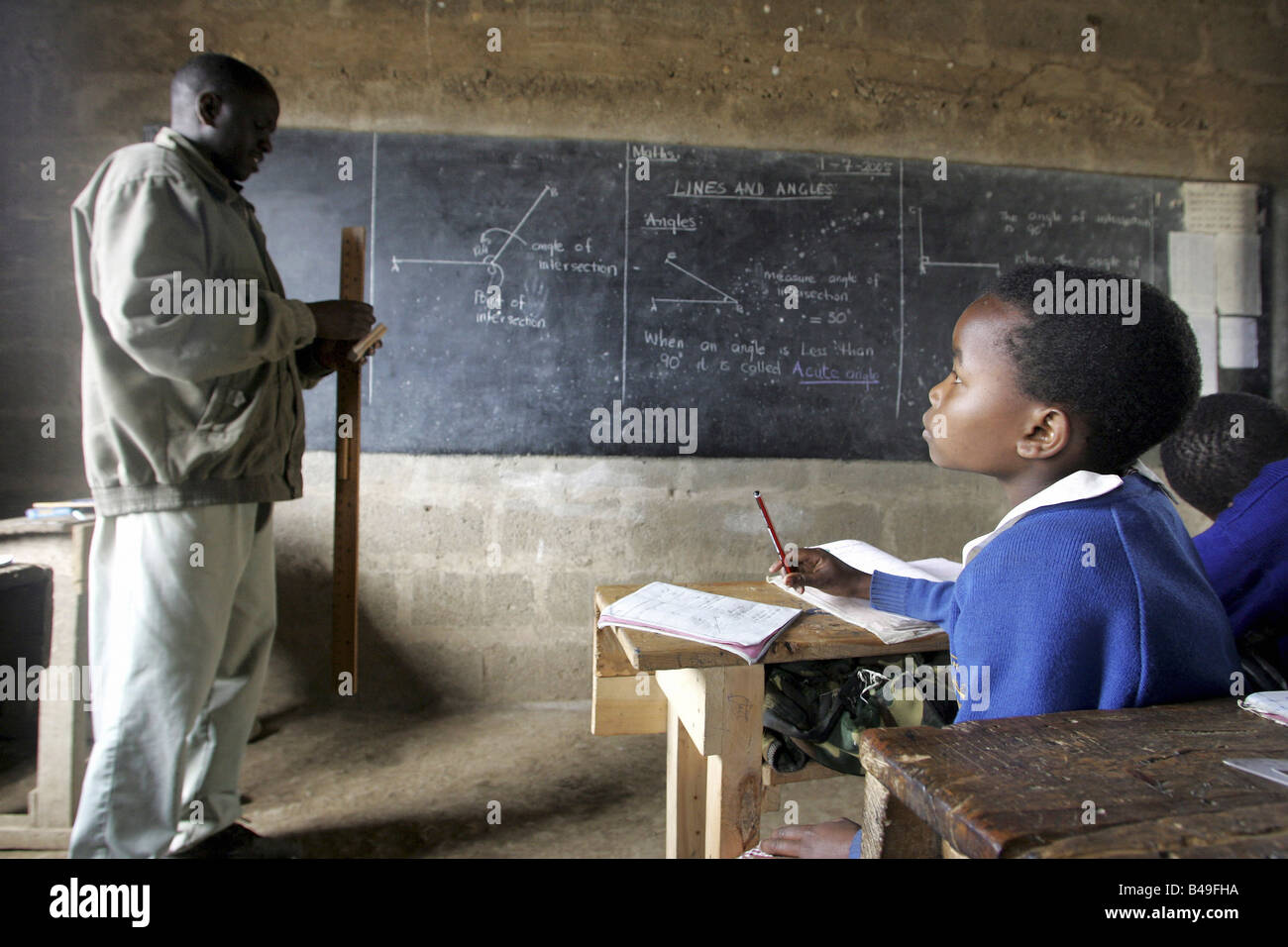 Kenyan mature teacher