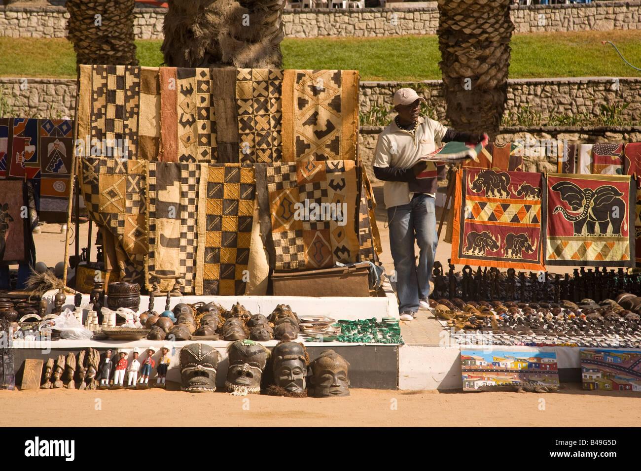 Craft Market Swakopmund Namibia - Stock Image