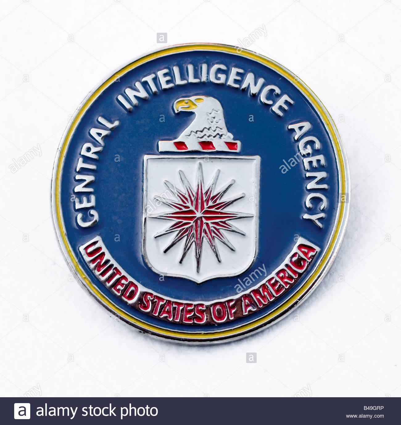 central intelligence agency - Stock Image