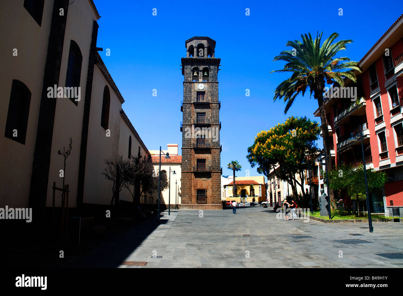 Nuestra Senora de la Concepcion (Our Lady if the Immaculate Conception) in La Laguna, Tenerife, Canary Islands, - Stock Image