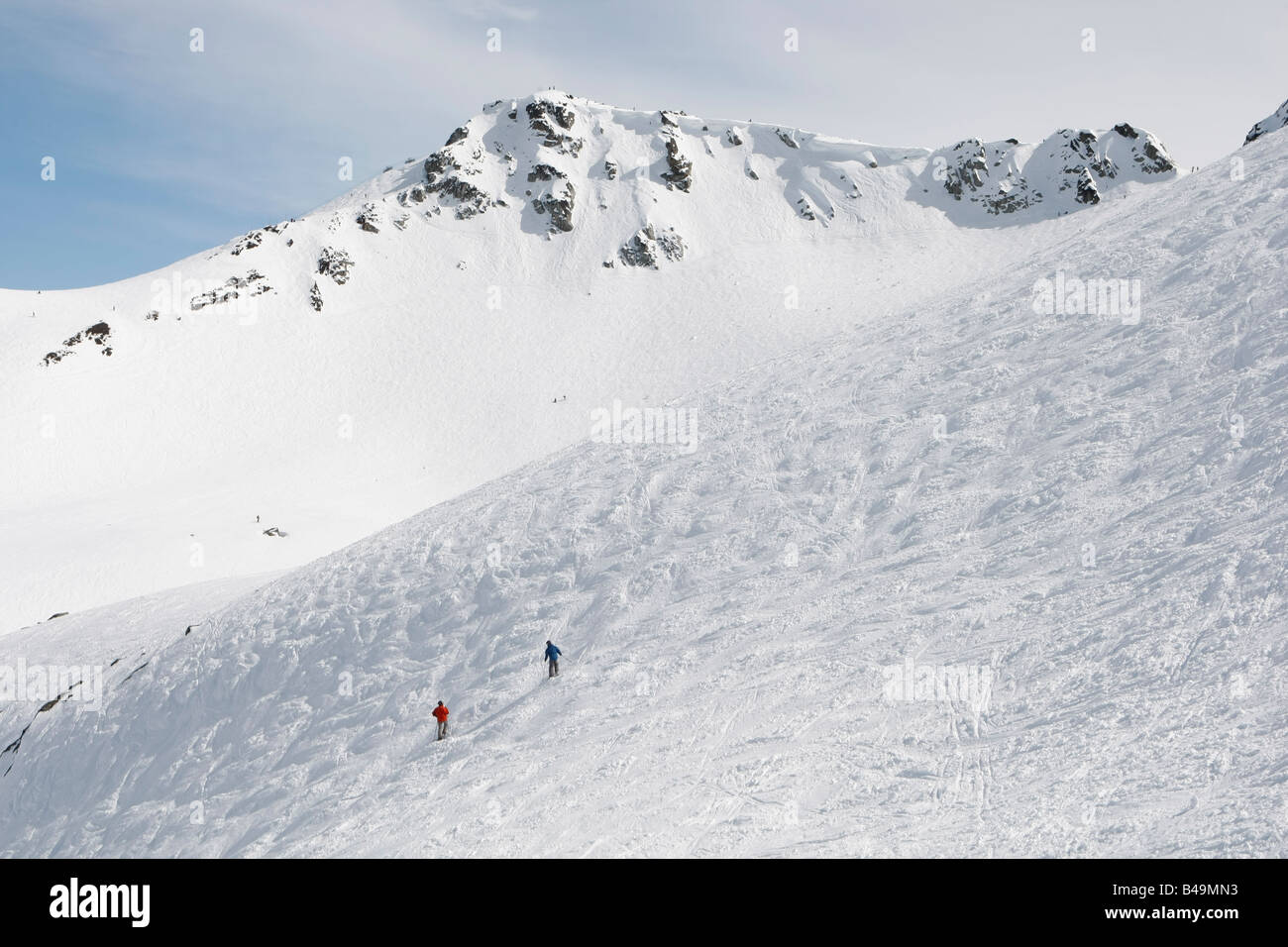 ski snowboard Whistler Blackcomb - Stock Image