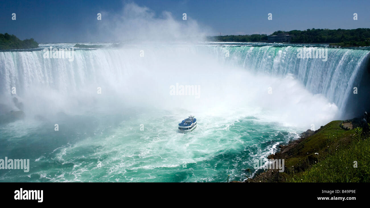 Horseshoe Falls at Niagara Falls, Canada. - Stock Image