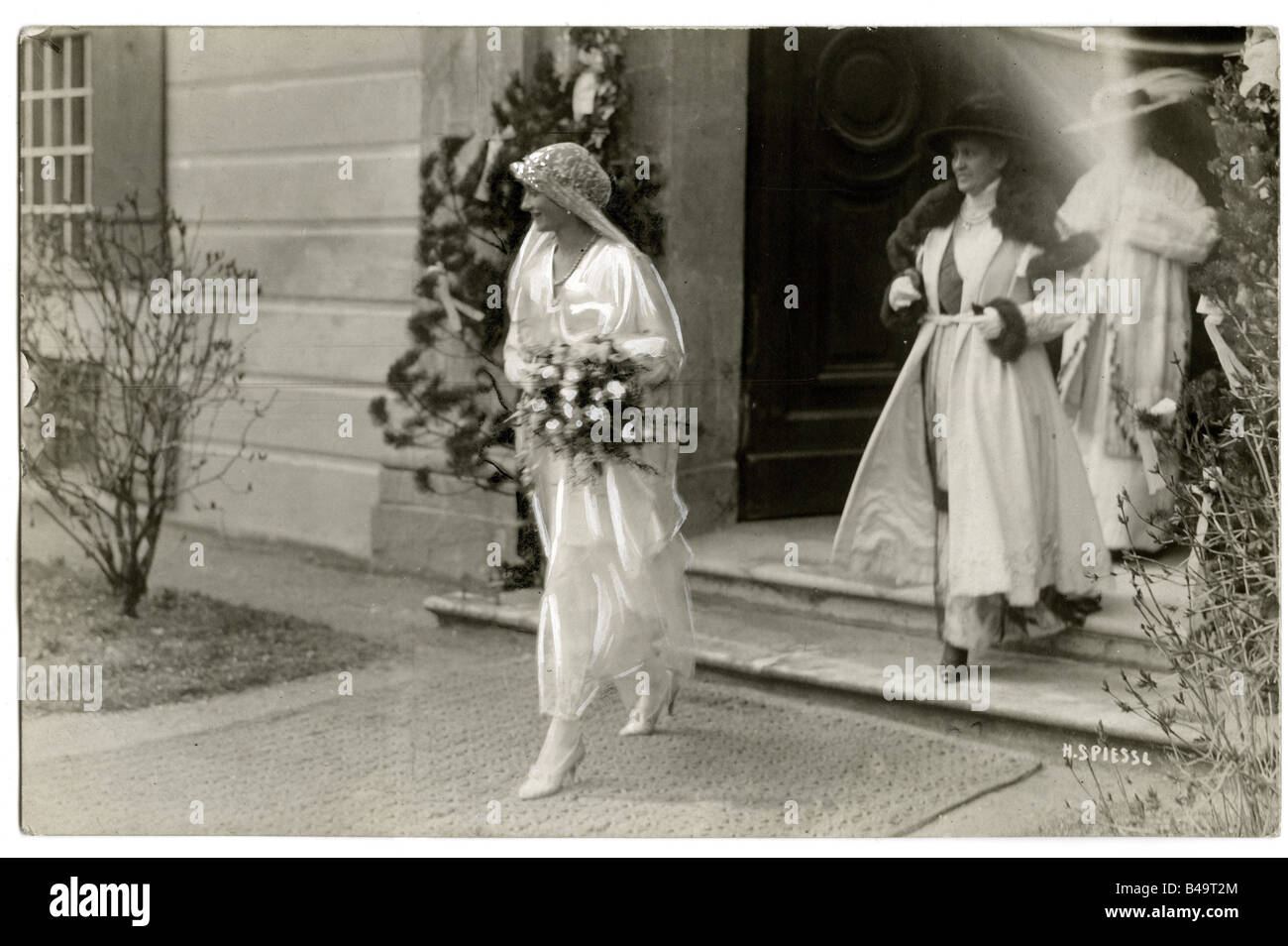 Antonia, 7.10.1899 - 31.7.1954, Crown Princess of Bavaria 7.4.1921 - 31.7.1954, during her marriage with Crown Prince Stock Photo