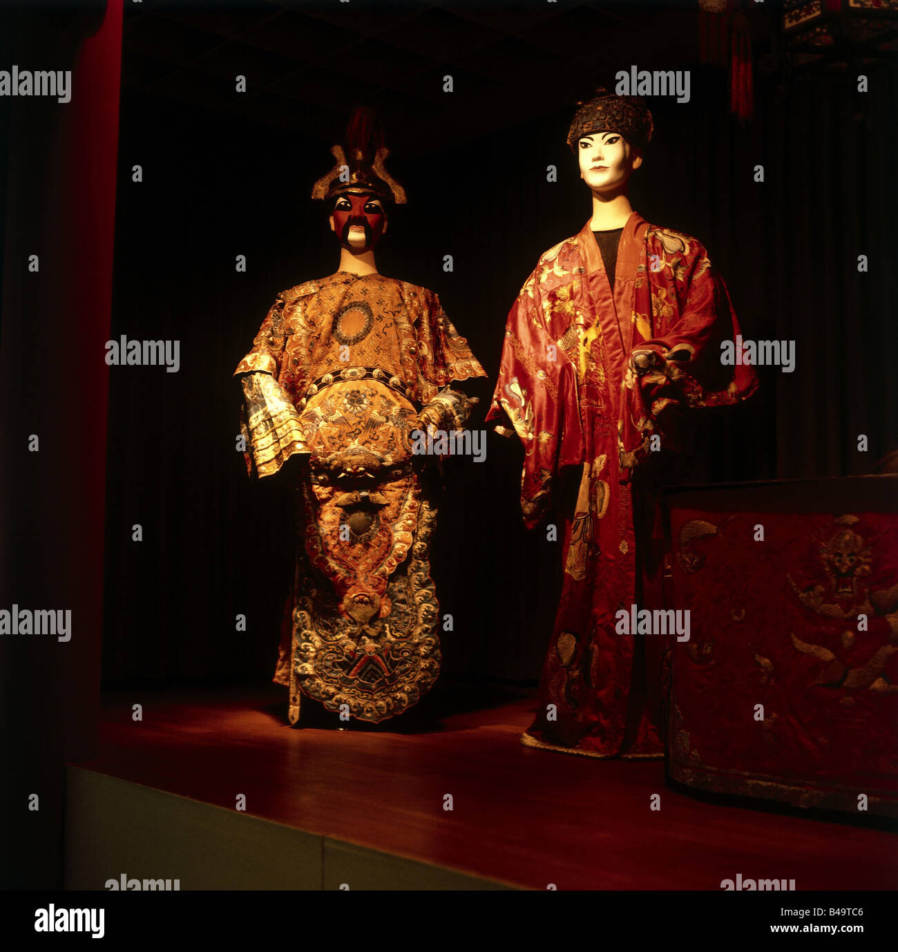 theate, China, Beijing opera, costumes, 19th/20th century