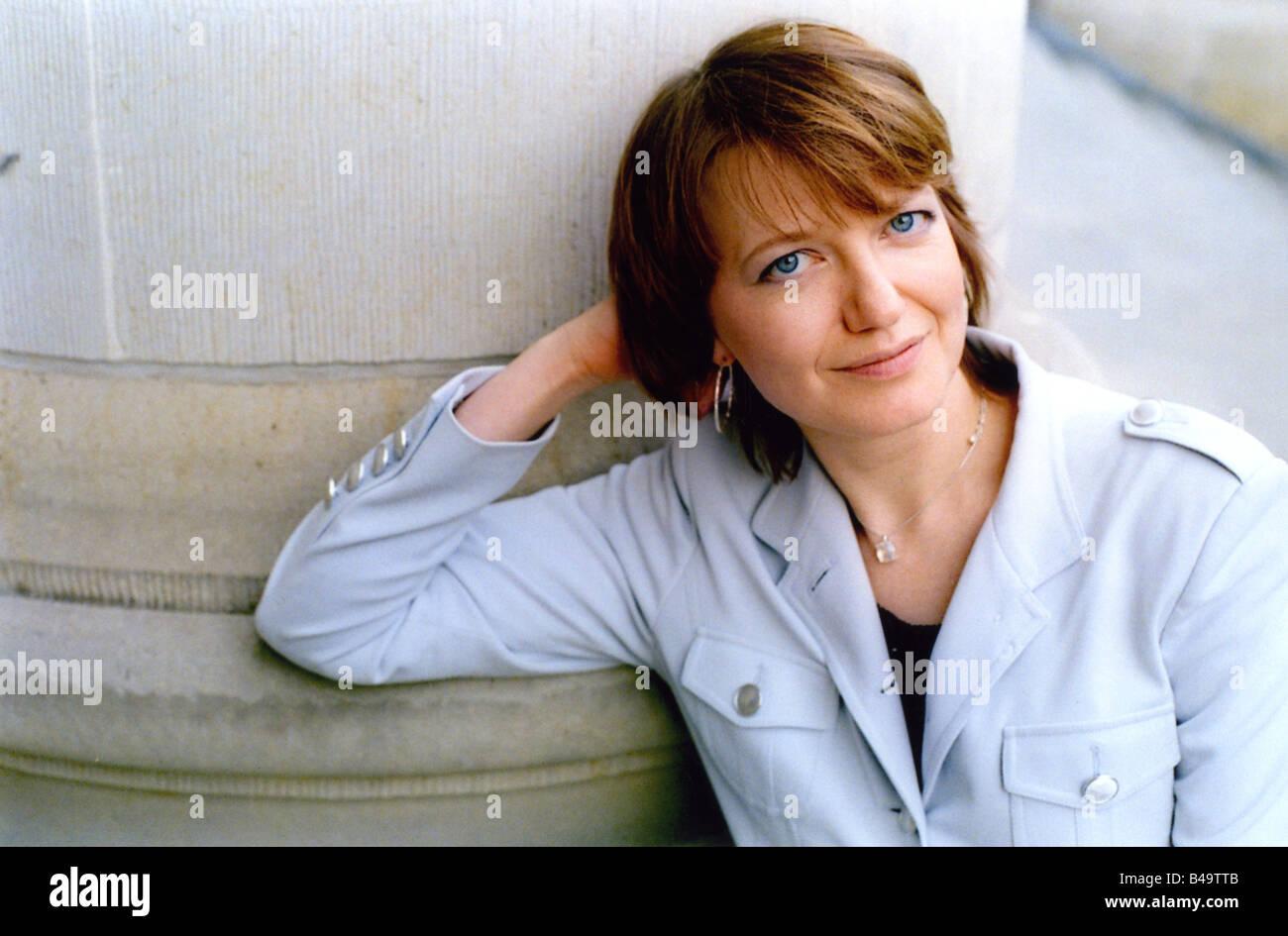 Hummel, Eleonora, * 1970, German author / writer, half length, International PEN Congress, Berlin, 22. - 28.5.2006, - Stock Image