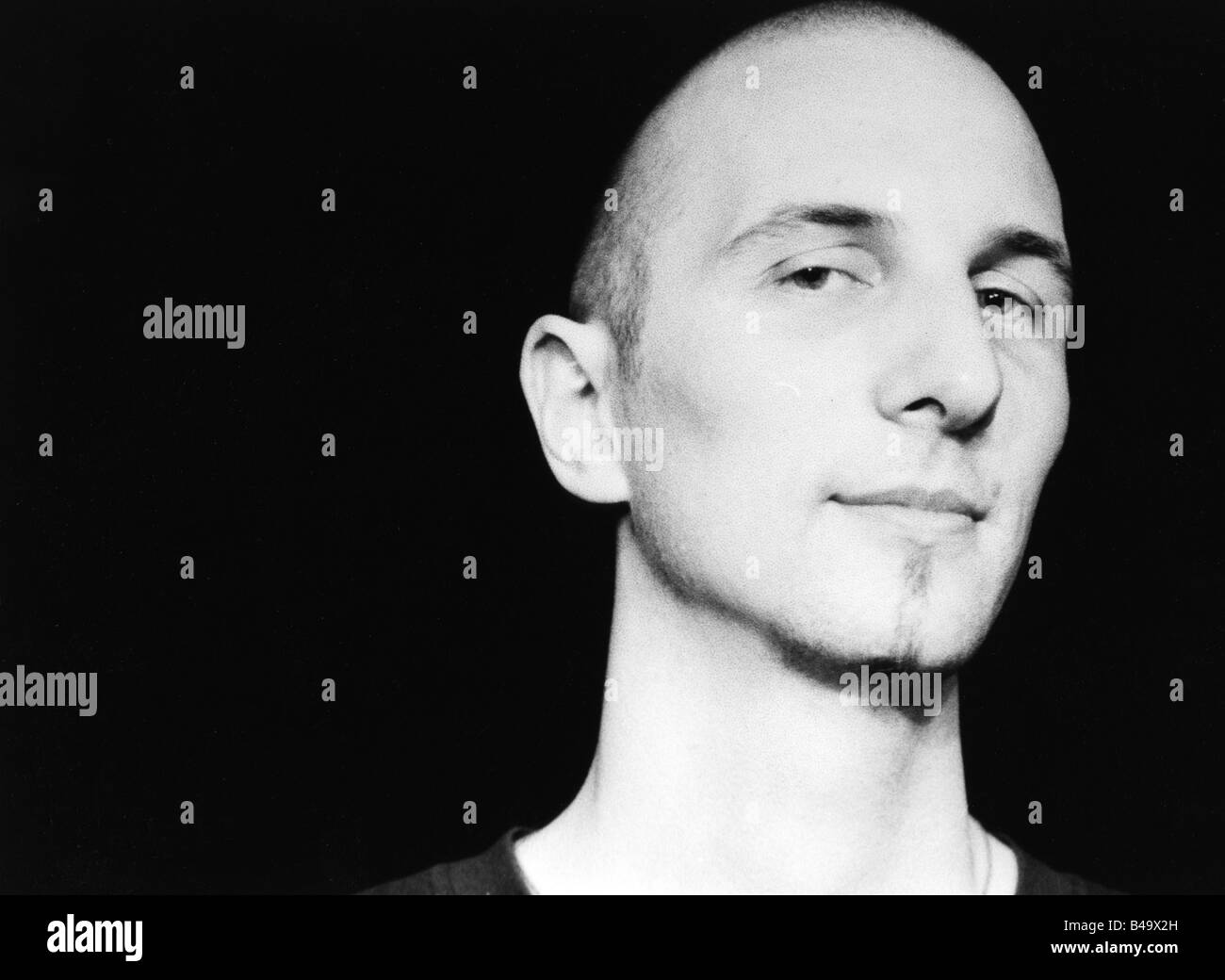Bartmes, Johannes, * 1964, Swiss musician (Jazz), portrait, live performance, Mannheim, March 1997, Additional-Rights - Stock Image