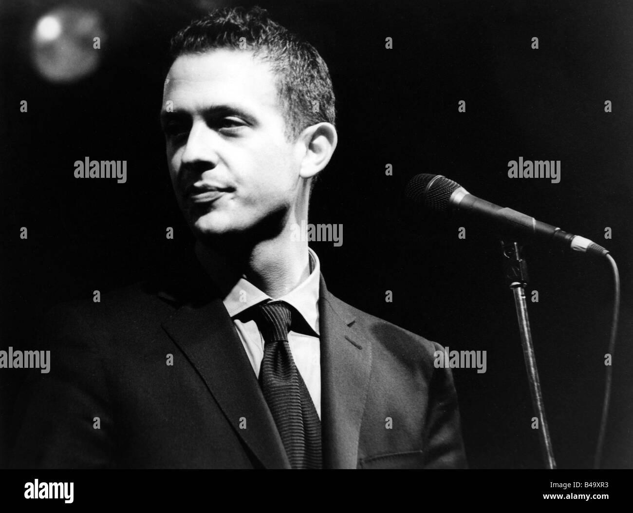 Brönner, Till, * 1971, German musician (Jazz), portrait, live performance, Mannheim, March 1999, Additional - Stock Image
