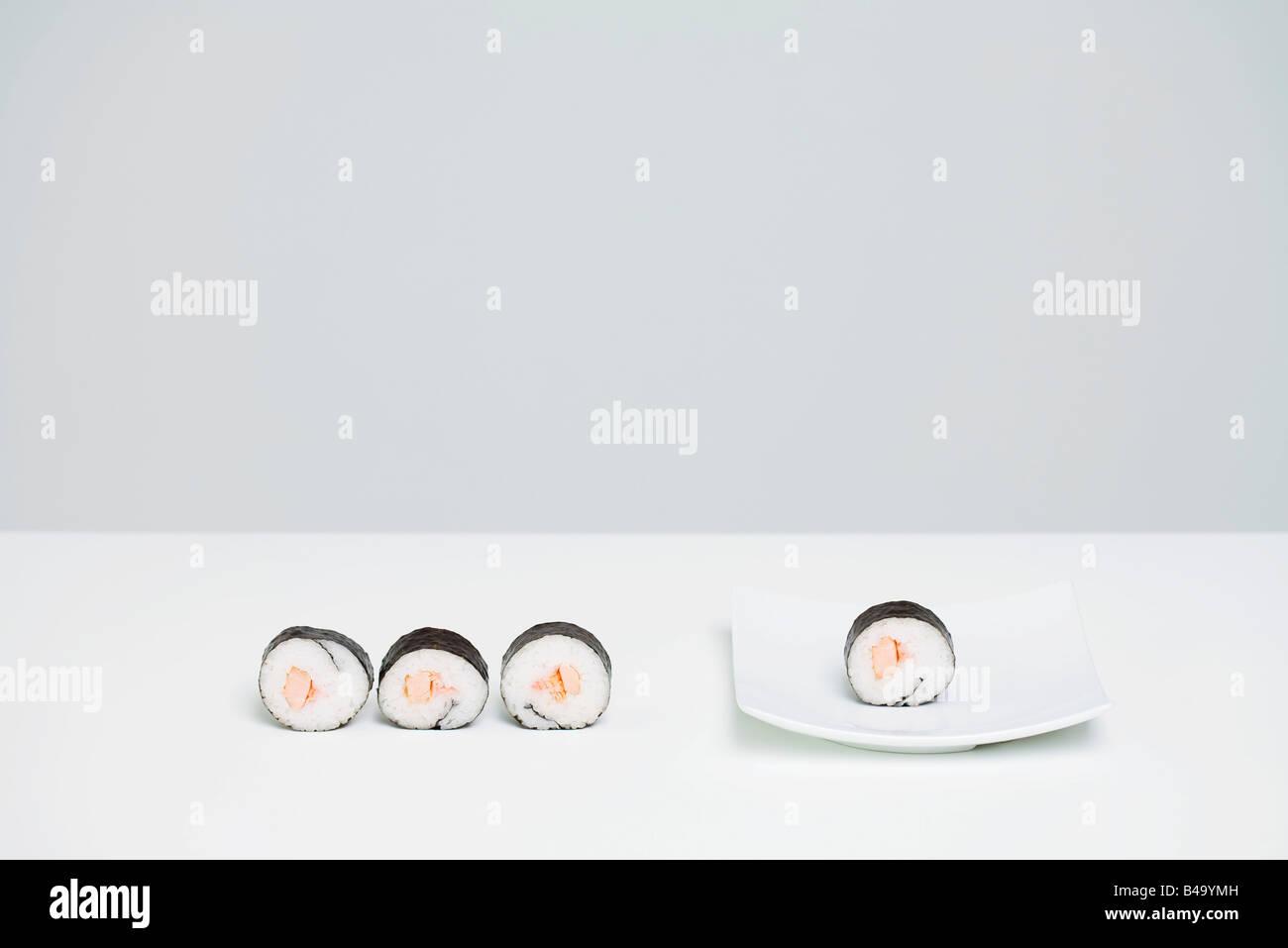 919531191c5c Four pieces of maki sushi