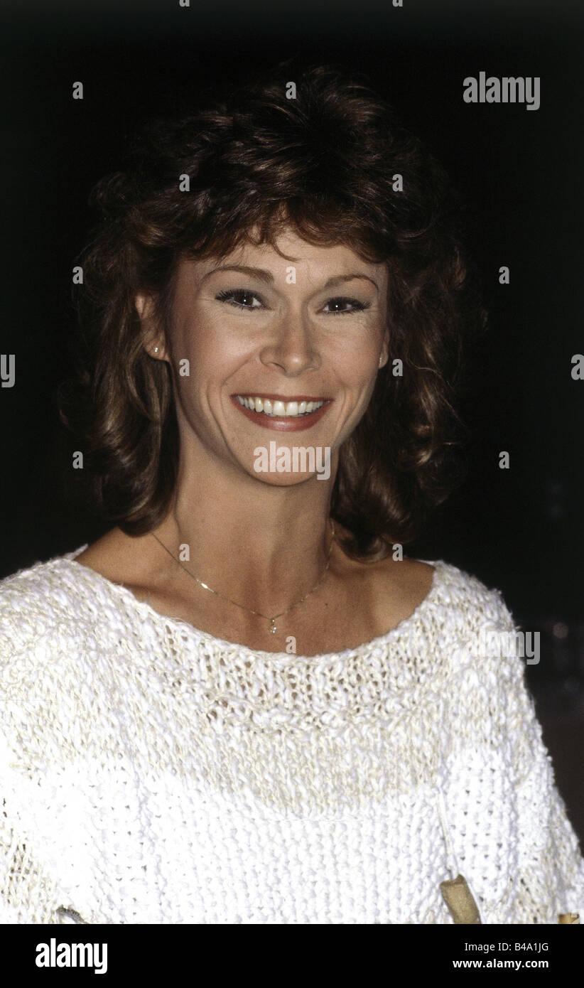 Jackson, Catherine Elise 'Kate', * 29.10.1948, American actress, portrait, Munich, 1984, Additional-Rights - Stock Image