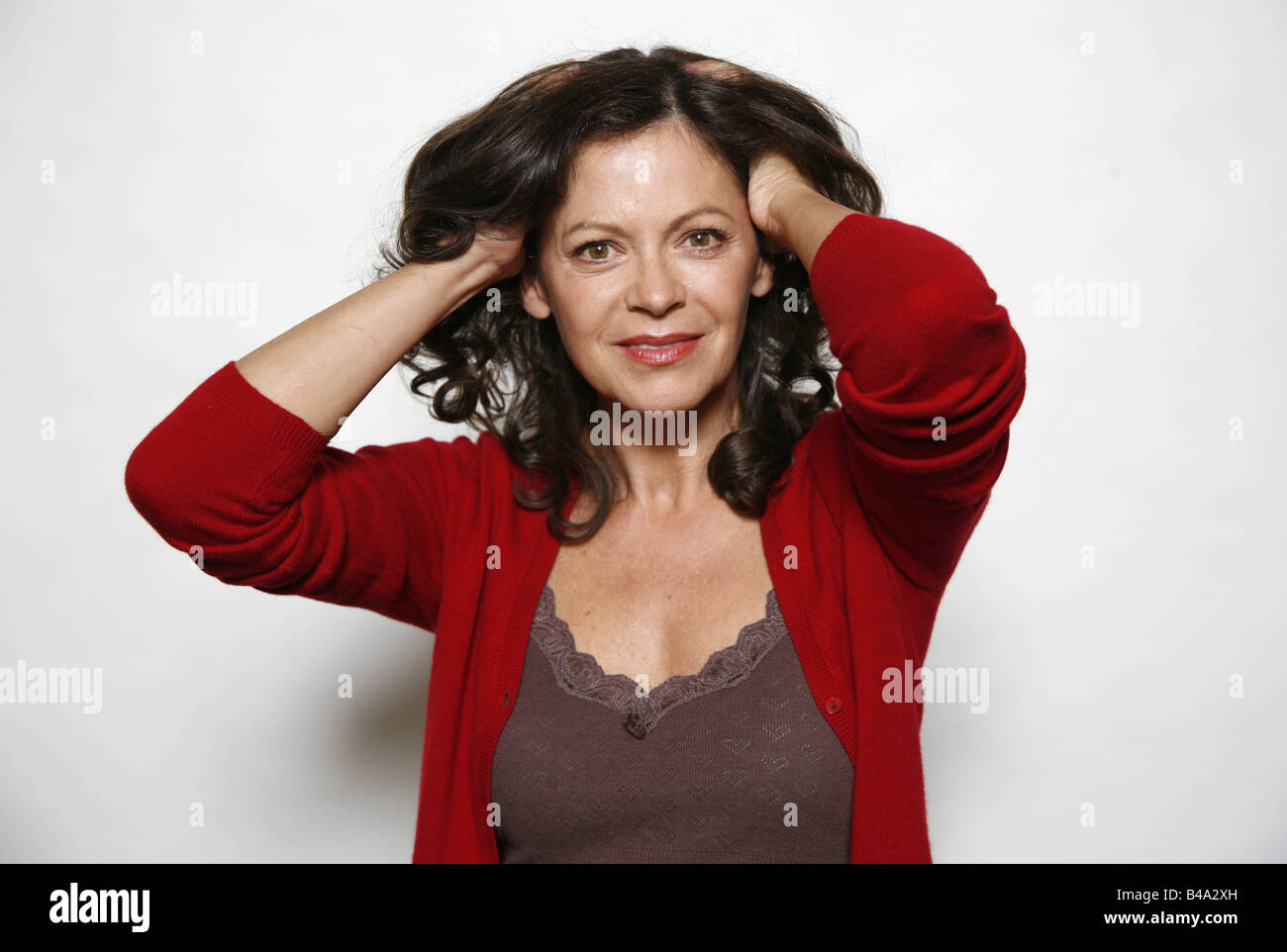 Roy, Angela, * 1957, German actress, halbfigur, 2006, Additional-Rights-Clearances-NA - Stock Image